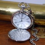 Pocket Watch, Quartz Personalised Engraved ref PWAC
